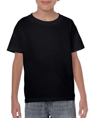maglietta t-shirt gildan bambino