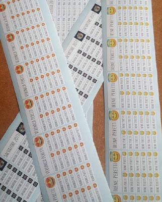kit etichette scuola personalizzate