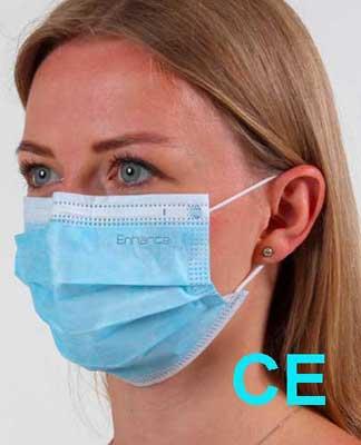 mascherina chirurgica certificata CE DPI