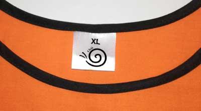 etichette personalizzate stampate raso